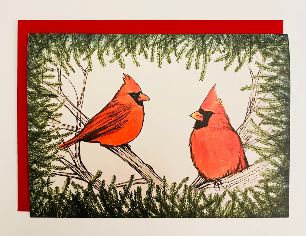 Cardinals Holiday Card