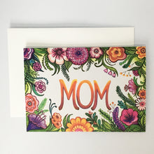 Big Flowers Mother's Day Card