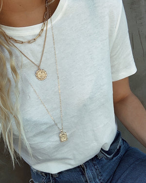 Sunny Initial Necklace