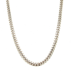 Ross Rhodium Necklace