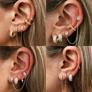Carrie Double Earring