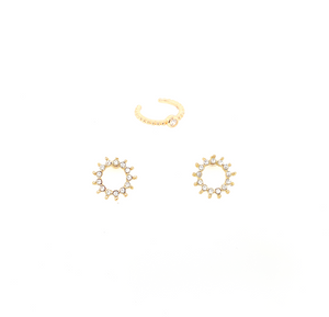 Amina + Miranda Earring Set