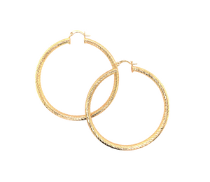 "2.25"" Pretty Woman Hoops"