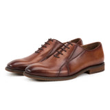 Mandujour Side Stiched Wholecut Oxford Leather