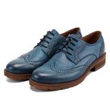Mandujour Shortwing Blucher Leather