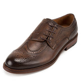 Mandujour Sidewing Blucher Leather