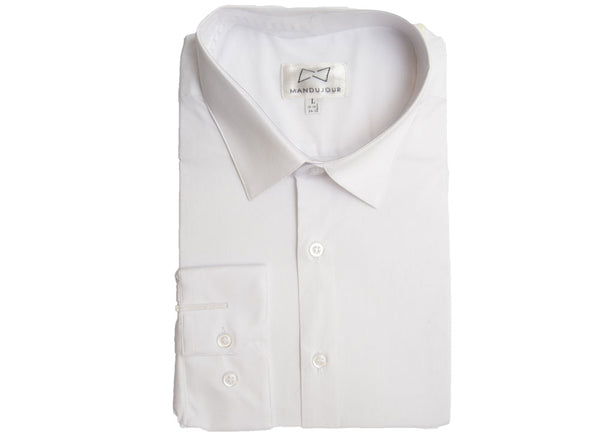 Stretch Cotton Slim-Fit Dress Shirt