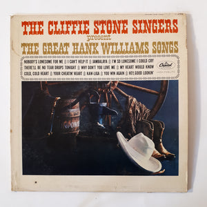 The Cliffie Stone singers - The Great Hank Williams songs