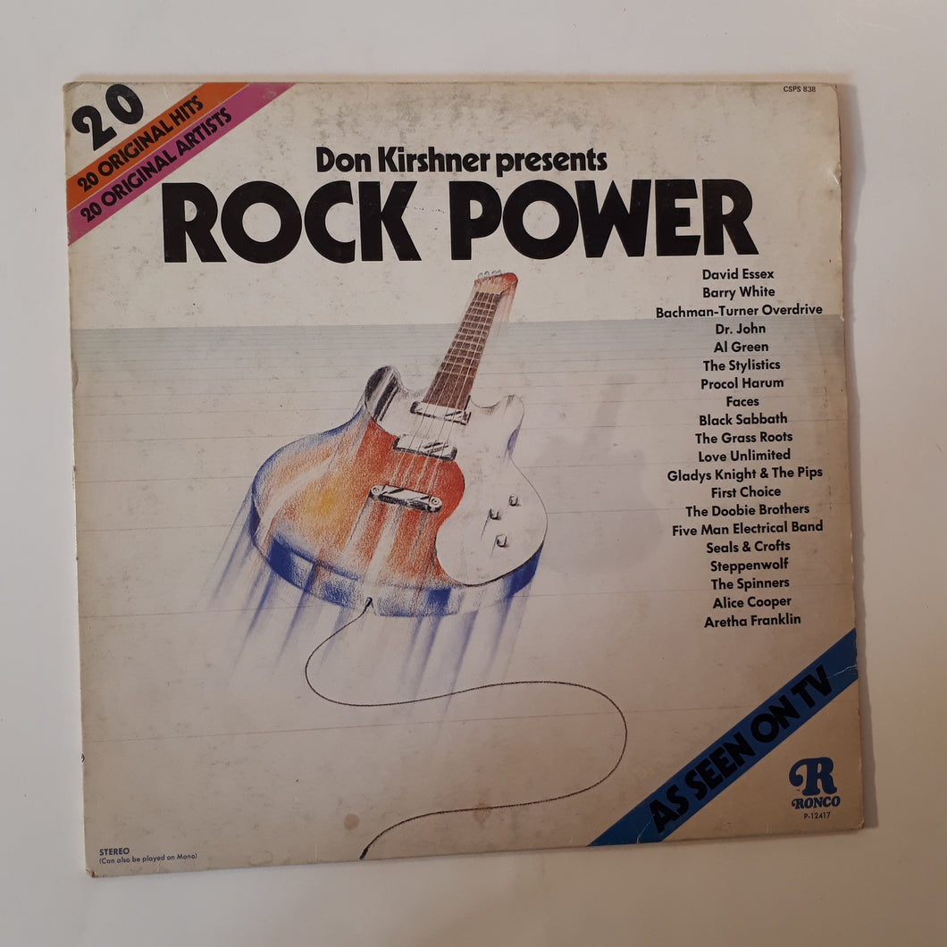 Rock power - Don Kirshner presents