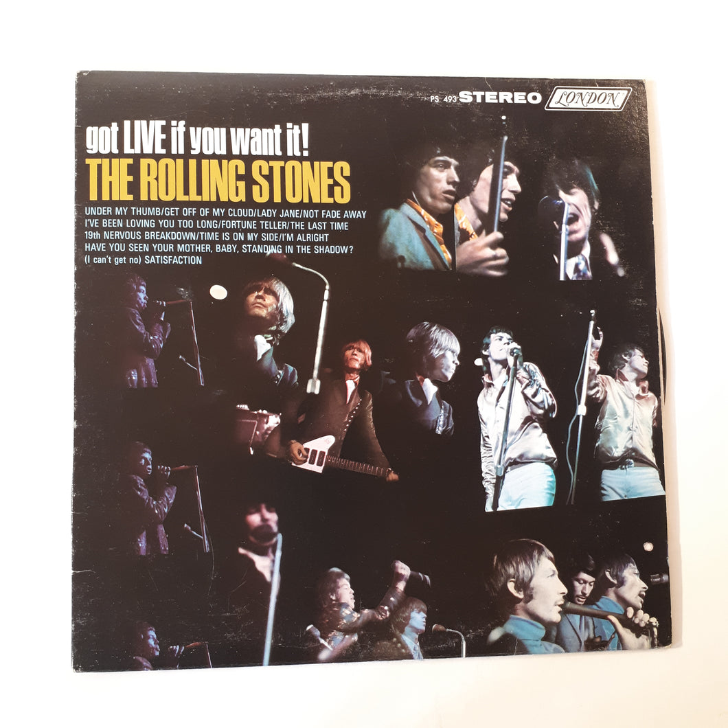 Rolling Stones - Got Live if you want it!