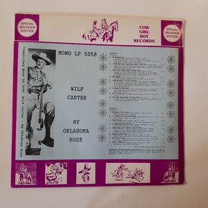 Wilf Carter - My Oklhahoma rose