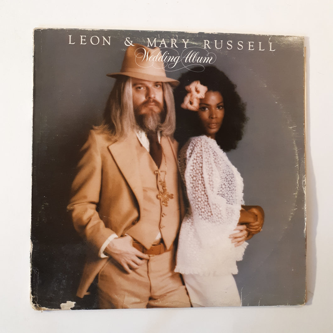 Leon and Mary Russell - Wedding album