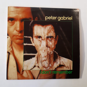 Peter Gabriel - I don't remember