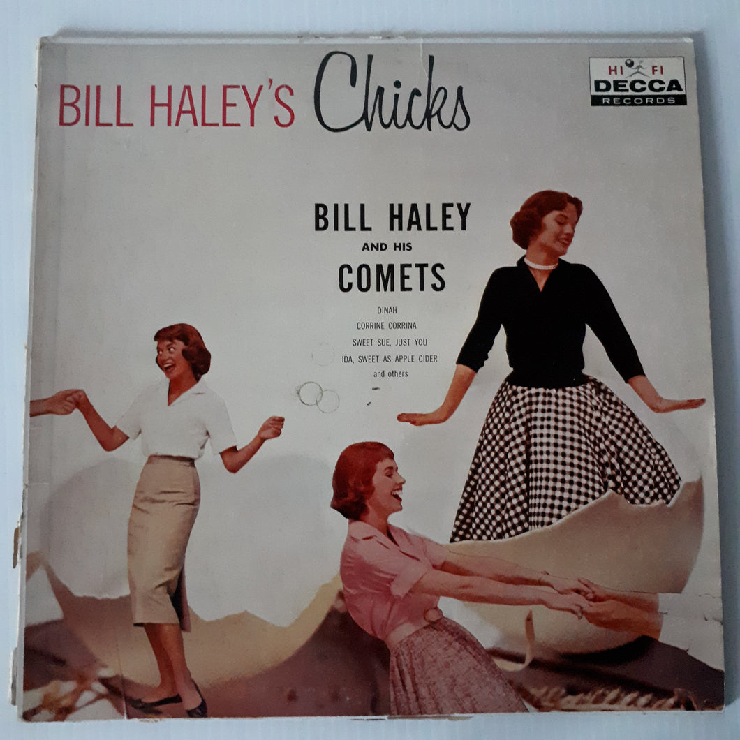 Bill Haley and his comets 1959 - Bill Haley and his chicks