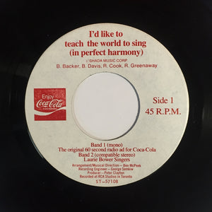 Laurie Bower Singers / Dr. Music - I'd Like To Teach The World To Sing (In Perfect Harmony)