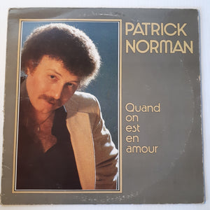 Patrick Norman - Quand on est en amour