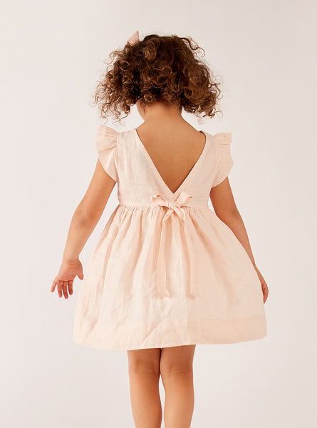 Blush - Bow Back Dress