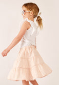 Blush - Tiered Skirt