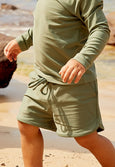 Olive - Board Shorts