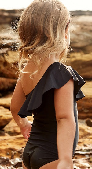 Black - One Shoulder