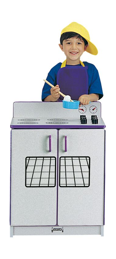 Rainbow Accents Play Kitchen Stove - Blue