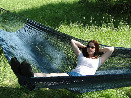 Mayan Hammock - XL Family Sized Thick Cord Forest Green
