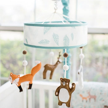 Woodland Crib Mobile - Forest Friends Crib Collection