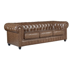 Chesterfield Sofa - Brown