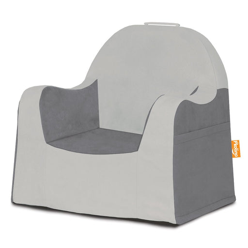 Little Reader Chair - Light Grey and Dark Grey