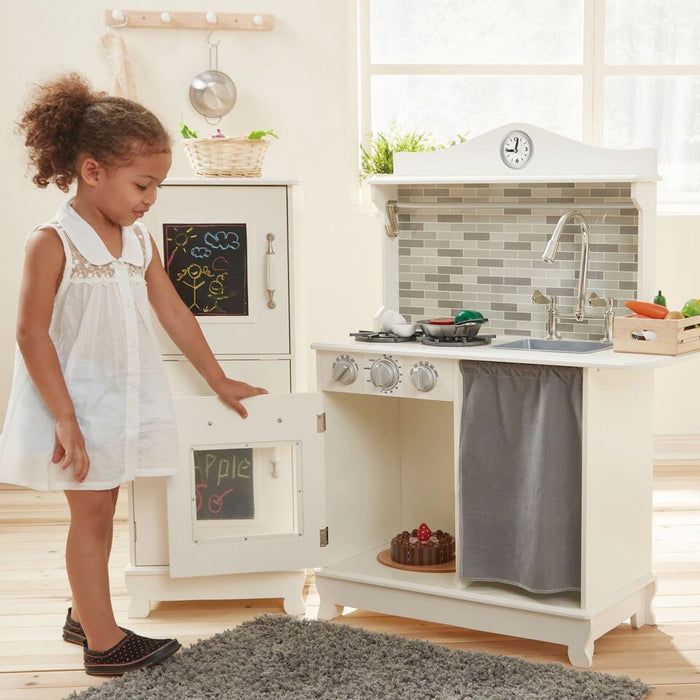 Retro Play Kitchen Provence - White