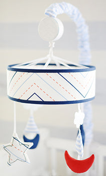 Nautical Baby Mobile - First Mate Baby Bedding Collection
