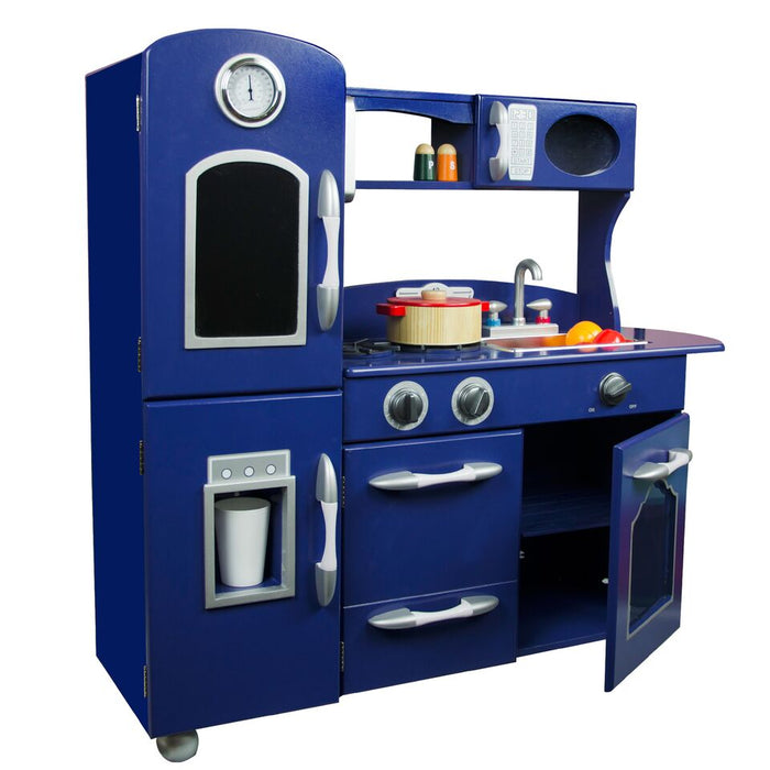 Retro Play Kitchen Westchester - Navy Blue
