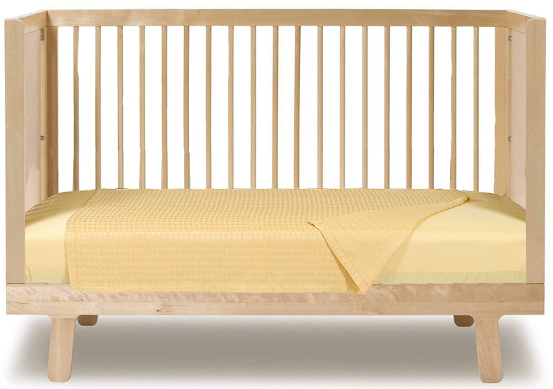 Rayon from Bamboo Crib Sheet - Butter