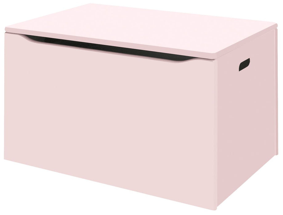 Classic Toddler Wooden Toy Chest - Pink