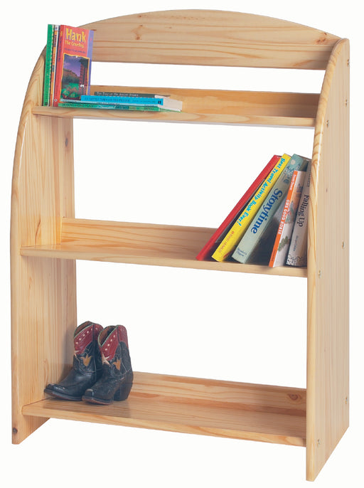 Modern Toddler Bookcase - Unfinished