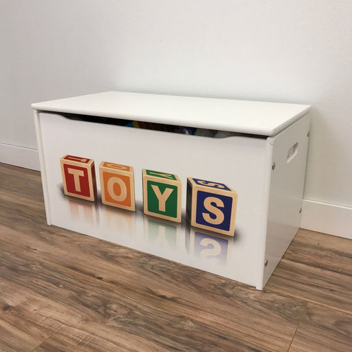 "Little Prints ""TOYS"" Toy Storage Box"