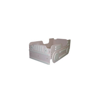 Twin Bulldozer Bed - Pink