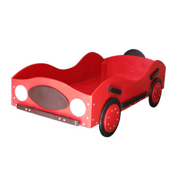 Toddler New Style Race Car Bed