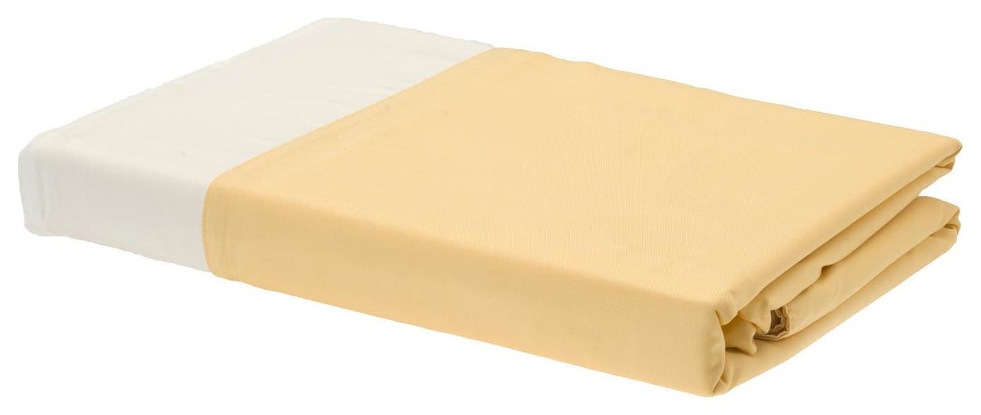 Rayon from Bamboo Duvet Covers - Butter/Ivory