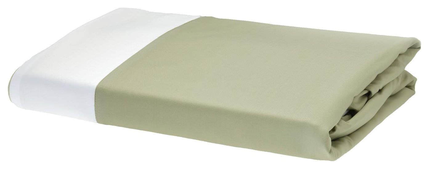 Rayon from Bamboo Duvet Covers - White/Sage