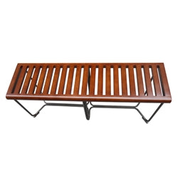 Solid Bench 48 Inches - Brown