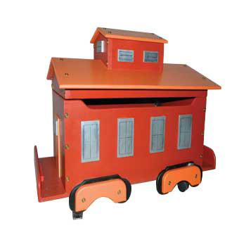 Caboose Toy Box