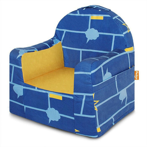 Little Reader Chair Comic Book - Blue and Yellow