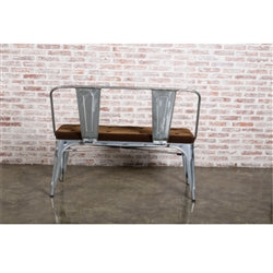 Fine Mod Imports Back Lounge Bench