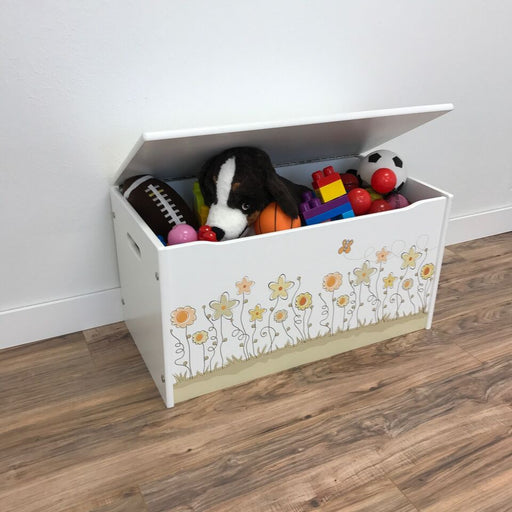 Little Prints Field of Flowers Toy Storage Box