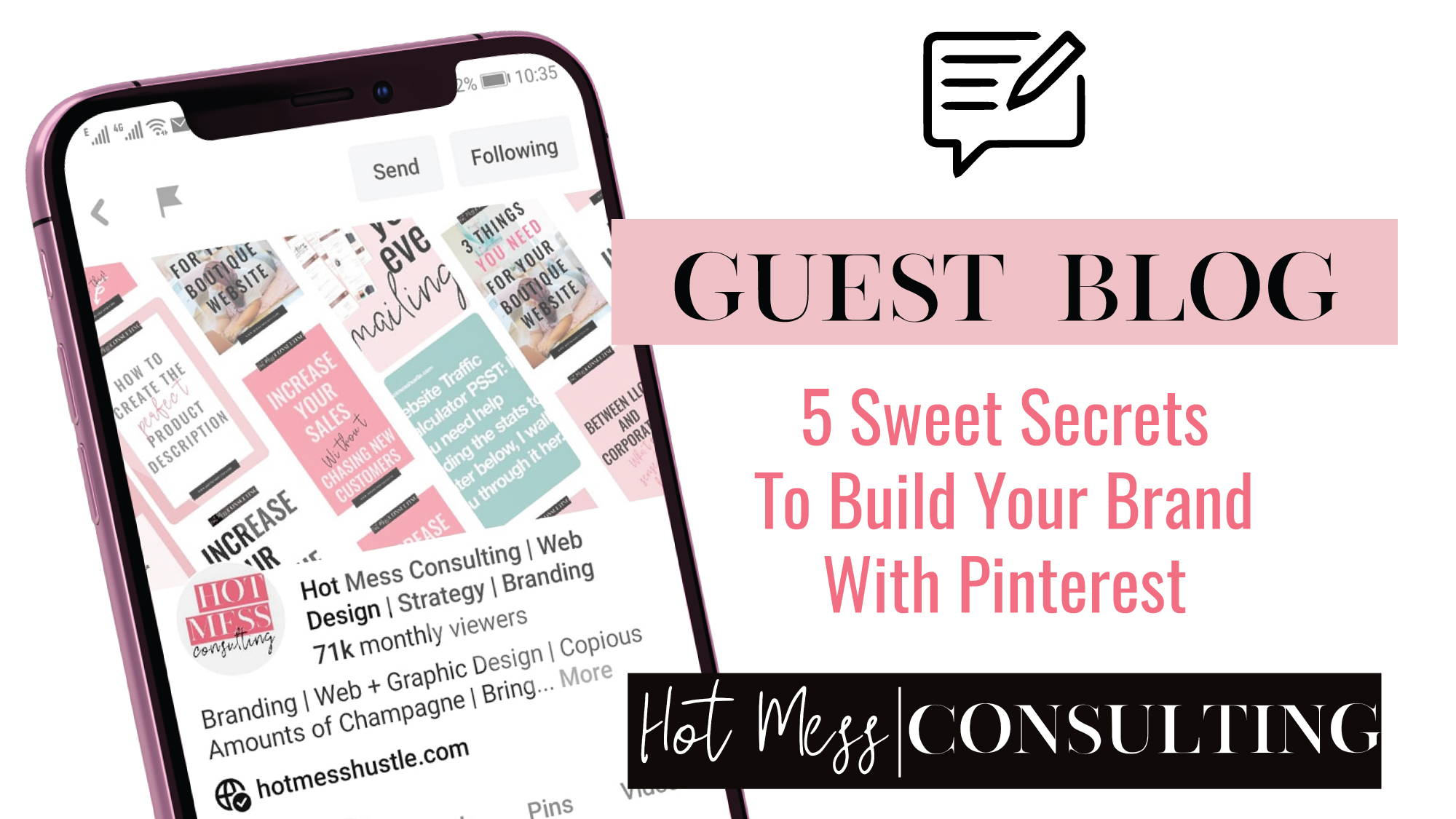 5 Sweet Secrets To Build Your Brand With Pinterest