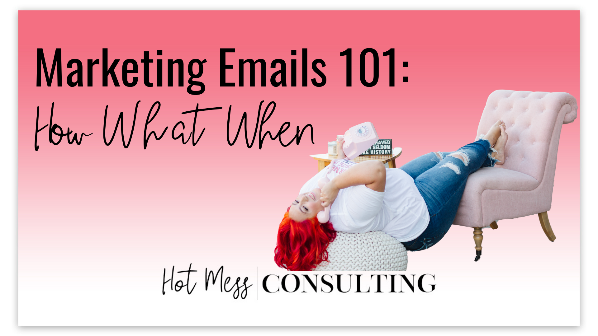 Boutique Marketing Emails 101: How, What, When!