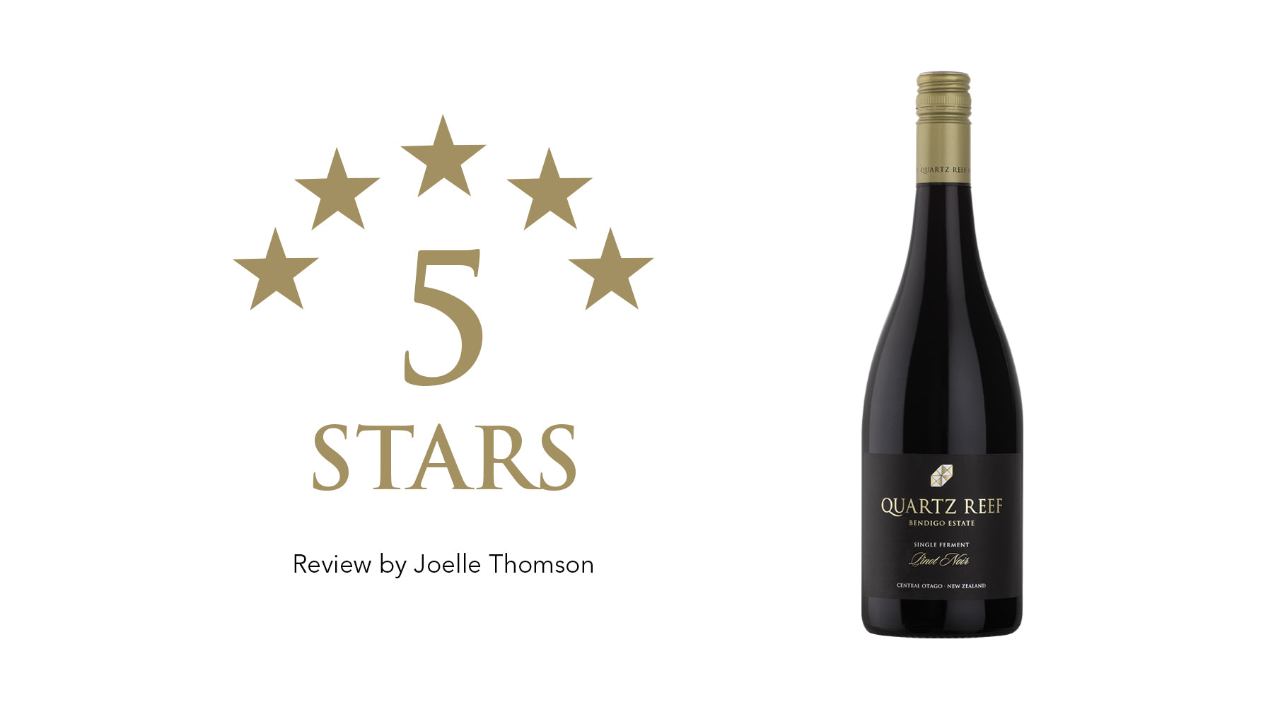Awarded 5 Stars: 2017 Bendigo Estate Single Ferment Pinot Noir