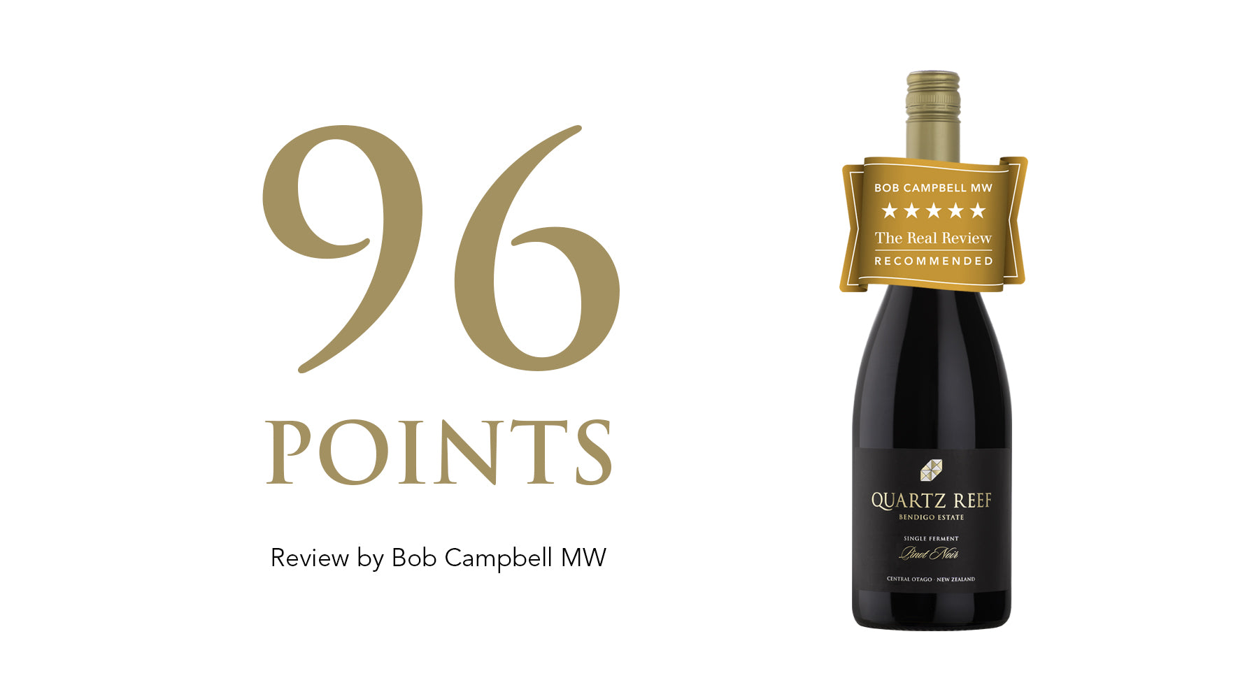 Bendigo Estate Pinot Noir 2018 - Awarded 96 Points