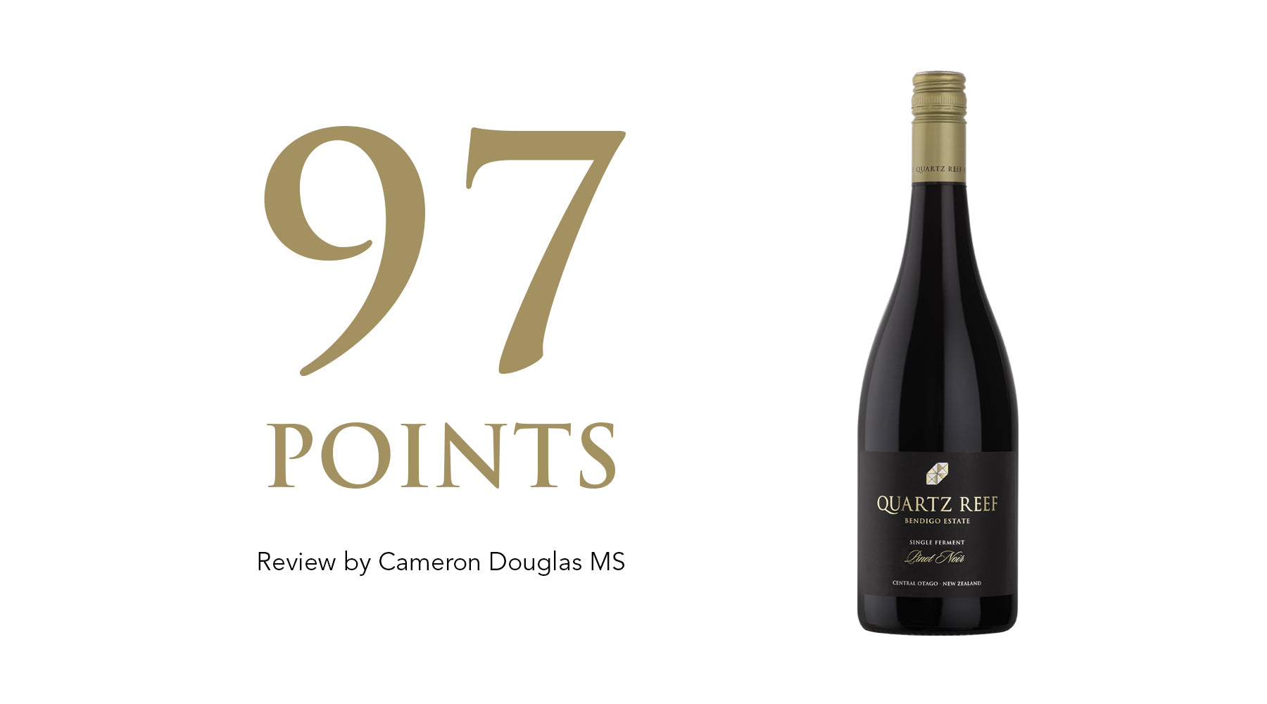 Single Ferment Pinot Noir 2017 - Awarded 97 Points